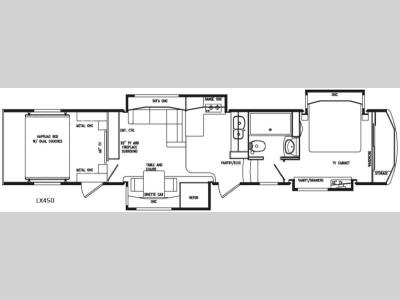 Floorplan - 2016 DRV Luxury Suites FullHouse LX450