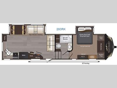 Floorplan - 2016 Keystone RV Montana High Country 293RK