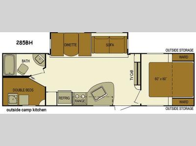 Floorplan - 2016 Skyline Layton Javelin 285BH