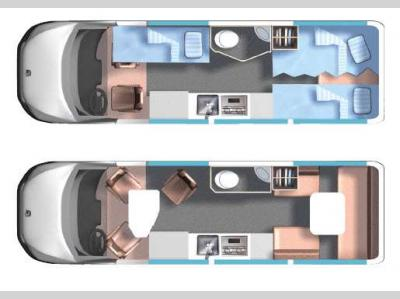 Floorplan - 2016 Roadtrek Adventurous CS