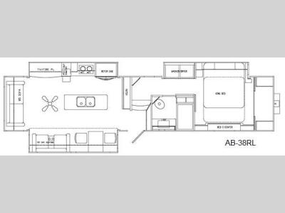 Floorplan - 2016 Augusta RV Ambition AB-38RL