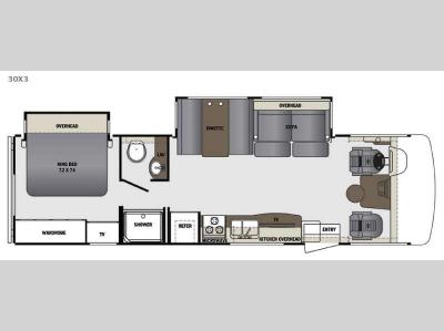 Floorplan - 2016 Forest River RV Georgetown 3 Series 30X3