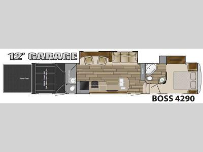 Floorplan - 2016 Cruiser BOSS 4290