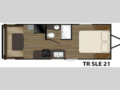 Floorplan - 2016 Heartland Trail Runner SLE 21