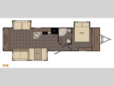 Floorplan - 2016 CrossRoads RV Sunset Trail Grand Reserve ST32RE