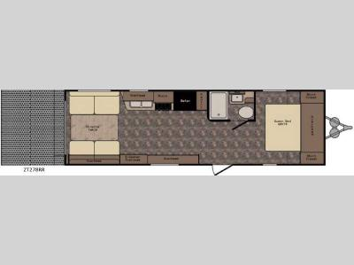 Floorplan - 2017 CrossRoads RV Z 1 ZT278RR