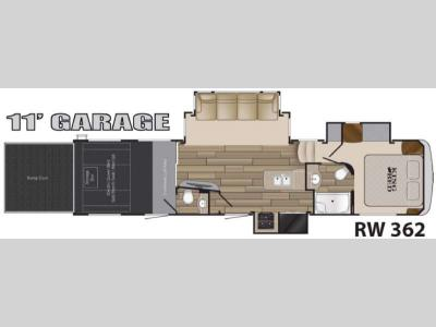 Floorplan - 2017 Heartland Road Warrior 362