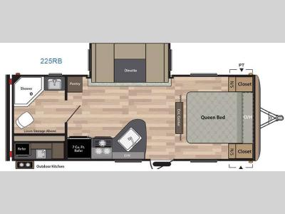 Floorplan - 2017 Keystone RV Springdale 225RB