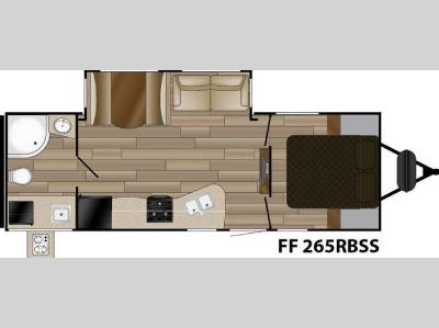 Floorplan - 2017 Cruiser Fun Finder Signature Edition F-265RBSS