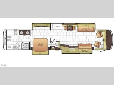 Floorplan - 2017 Newmar Mountain Aire 4553