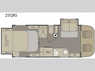Floorplan - 2016 Renegade Villagio 25QRS