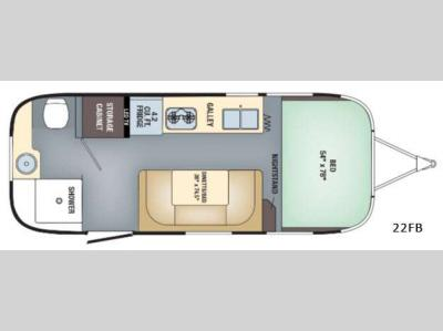 New 2018 Airstream RV Sport 22FB Travel Trailer at Windish