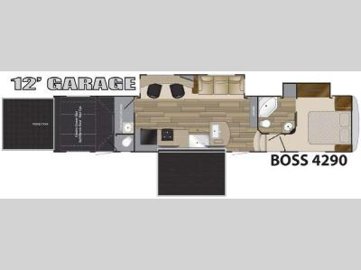 Floorplan - 2017 Cruiser BOSS 4290