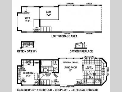 Floorplan - 2016 Skyline Shore Park 1941CTQ
