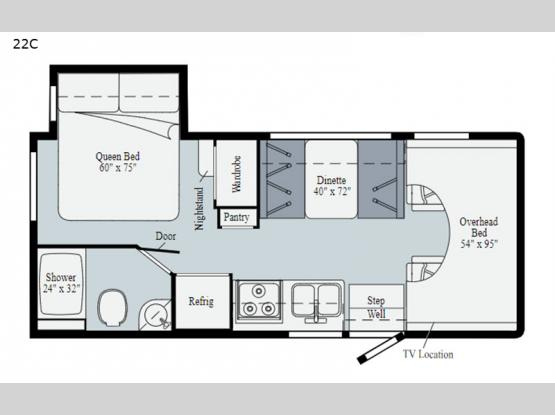 Outlook 22C Floorplan Image