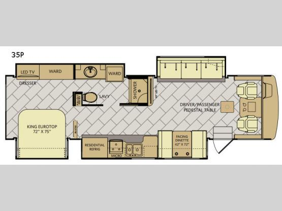 Bounder 35P Floorplan Image
