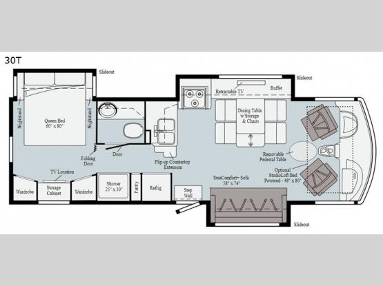 Adventurer 30T Floorplan Image