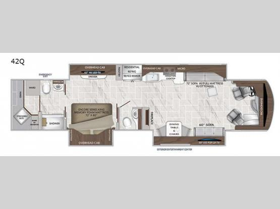 DREAM 42Q Floorplan Image