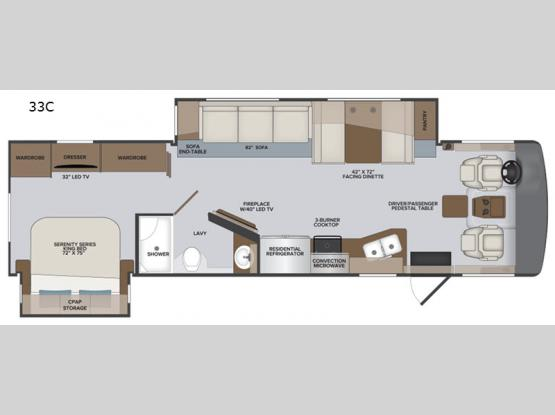 Vacationer 33C Floorplan Image