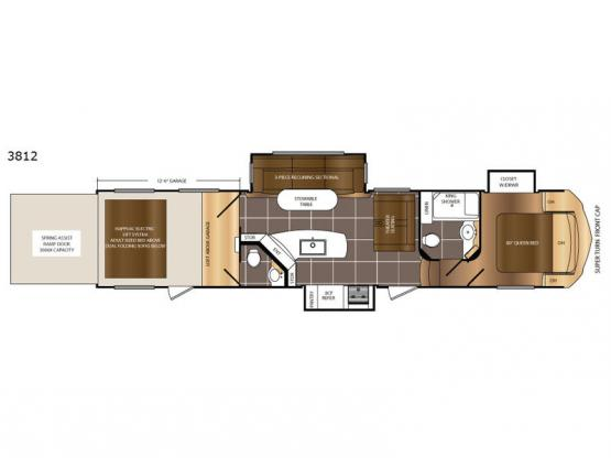 Spartan 300 Series 3812 Floorplan Image
