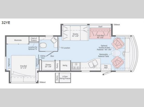 Vista 32YE Floorplan Image