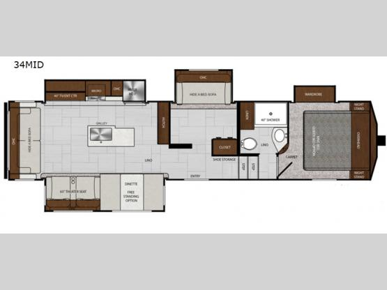 Impression 34MID Floorplan Image