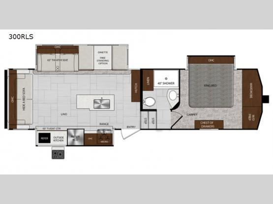 Impression 3000RLS Floorplan Image