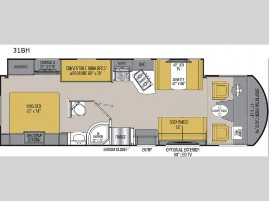 Pursuit Precision 31BH Floorplan Image