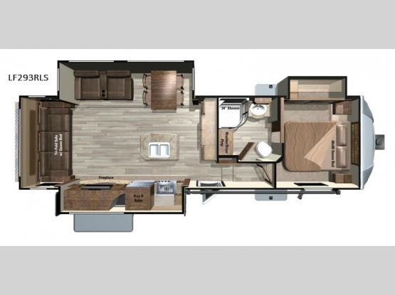 Open Range Light LF293RLS Floorplan Image
