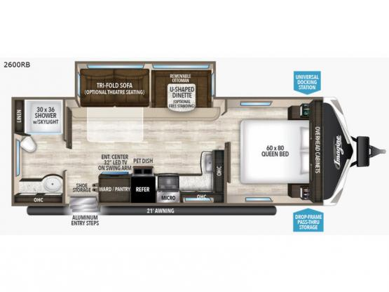 Imagine 2600RB Floorplan Image