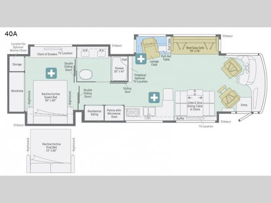 Horizon 40A Floorplan Image