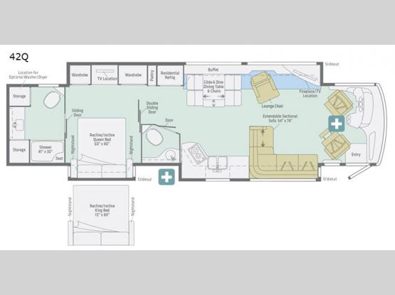 Horizon 42Q Floorplan Image