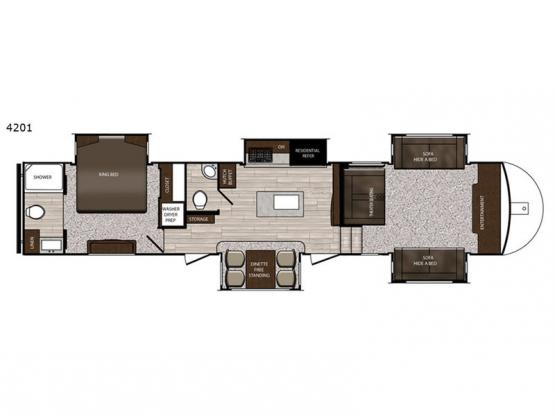 Sanibel 4201 Floorplan Image
