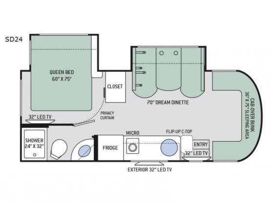 Synergy SD24 Floorplan Image
