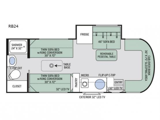Synergy RB24 Floorplan Image