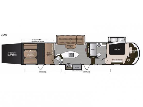 Voltage V3995 Floorplan Image