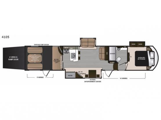 Voltage V4105 Floorplan Image