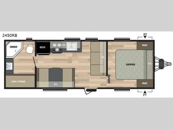 Summerland 2450RB Floorplan Image