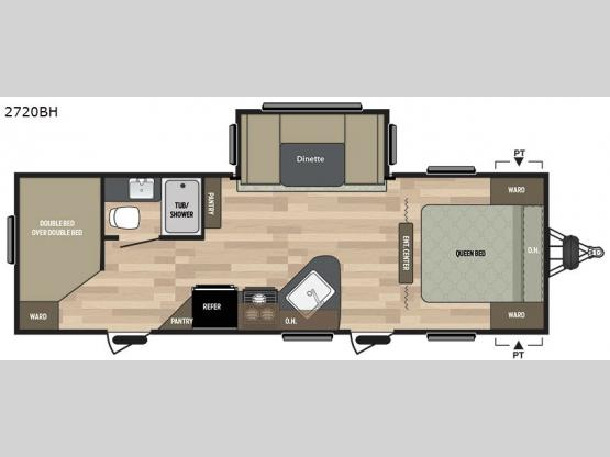 Summerland 2720BH Floorplan Image