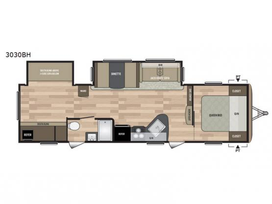 Summerland 3030BH Floorplan Image