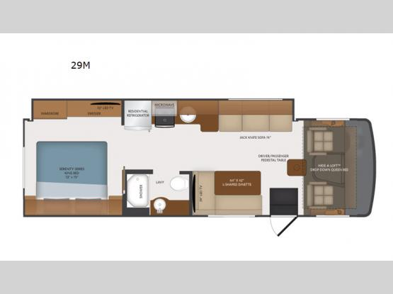 Flair 29M Floorplan Image