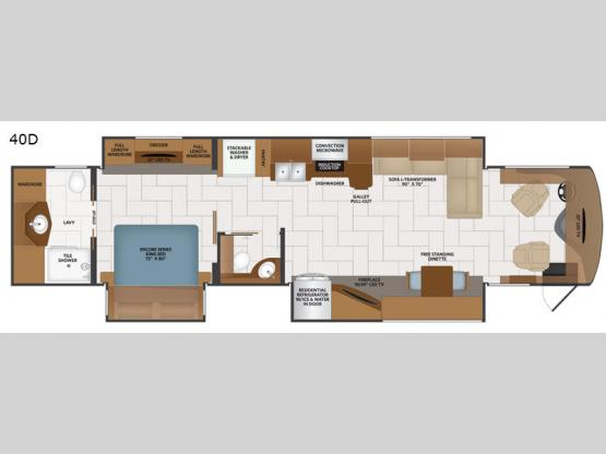 Discovery LXE 40D Floorplan Image