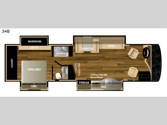 Bentley 34B Floorplan Image