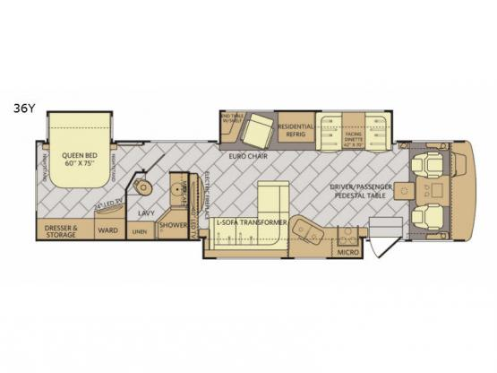 Bounder 36Y Floorplan Image