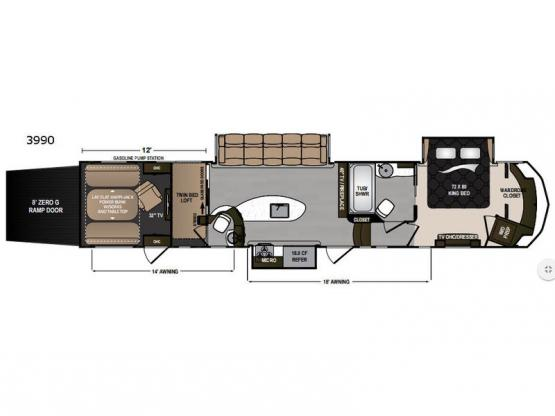 Voltage Epic 3990 Floorplan Image