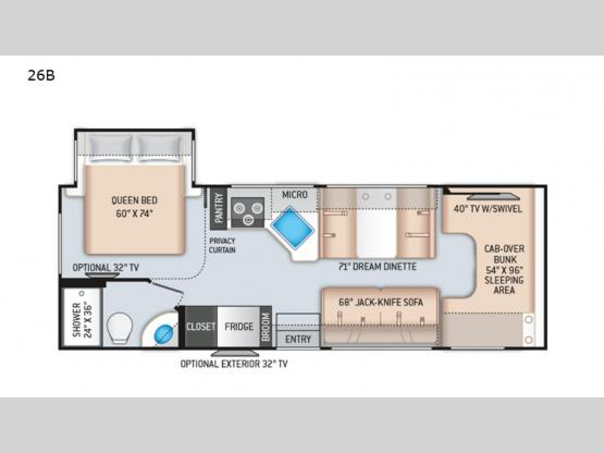 Chateau 26B Floorplan Image