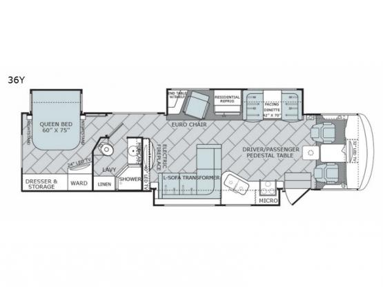 Vacationer 36Y Floorplan Image