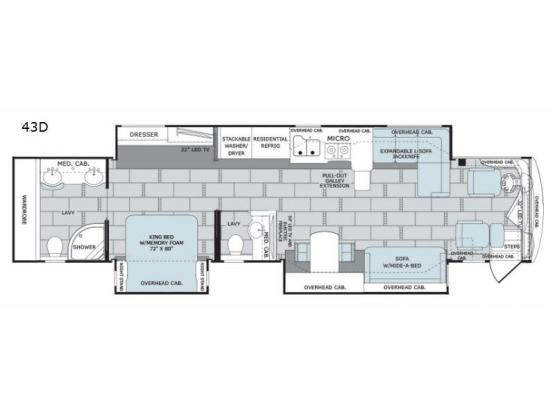 Scepter 43D Floorplan Image