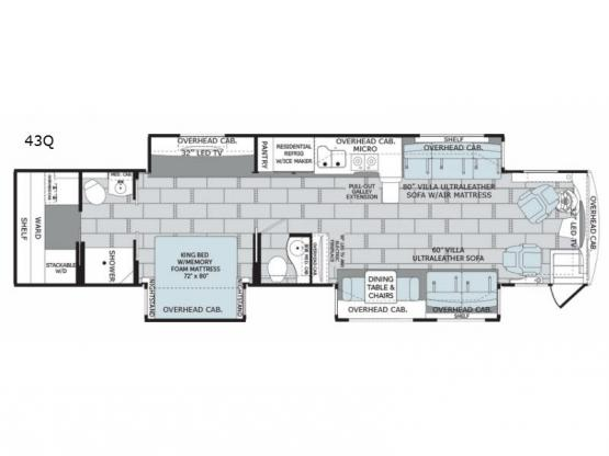 Scepter 43Q Floorplan Image