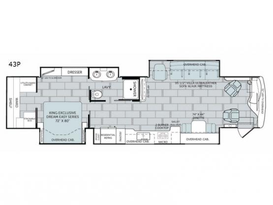 Scepter 43P Floorplan Image